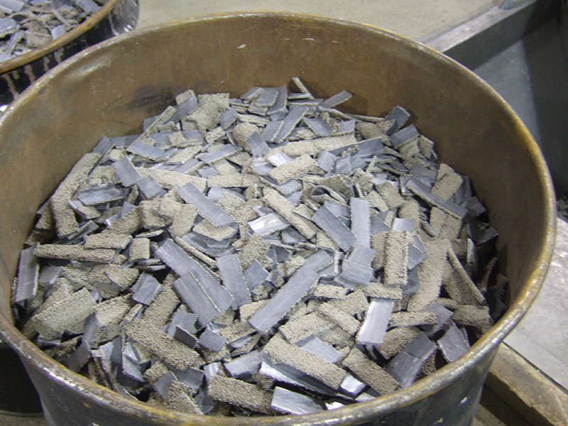 Our Proven Process of Crushing SAW Flux/Slag